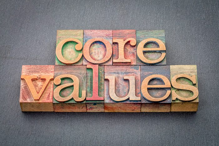 Personal brand values
