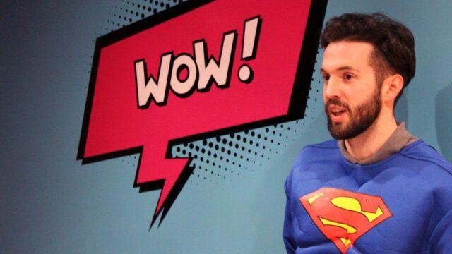 Creating transformation superheroes