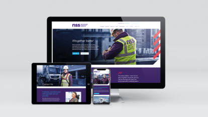NSS website design and UX