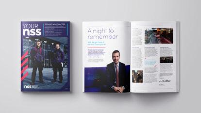 Your NSS employee engagement internal magazine design