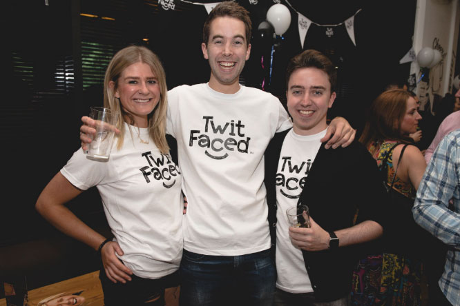 Twitfaced networking events